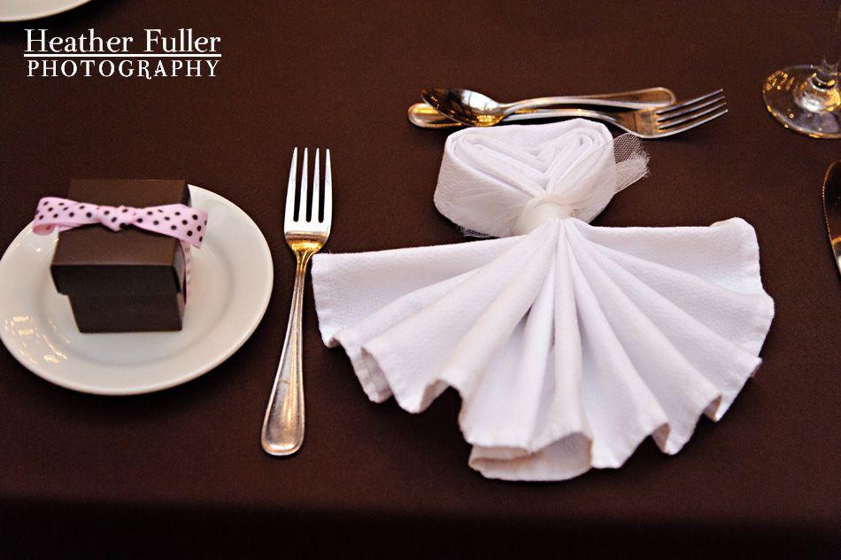 Wedding Napkin Folding On Pinterest Rings