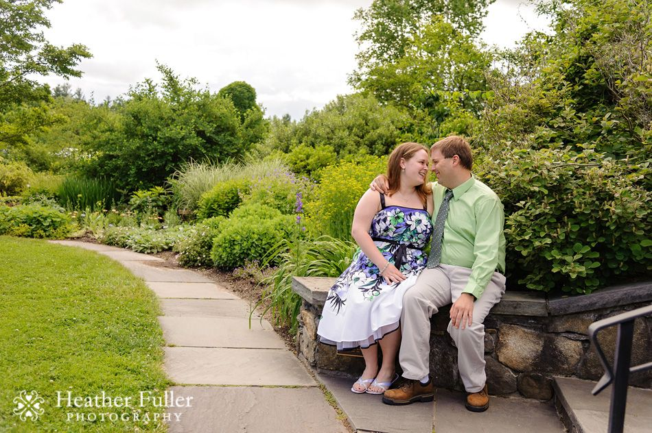 Shannon & Anthony\'s engagement session at Tower Hill Botanic Garden ...