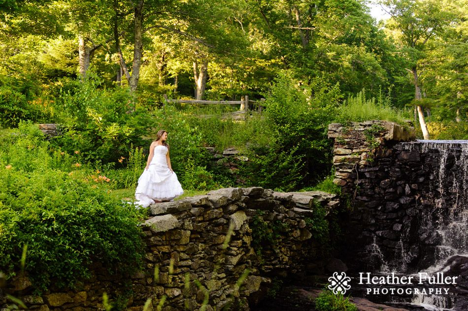 Trash The Dress Photography Session At Moore State Park