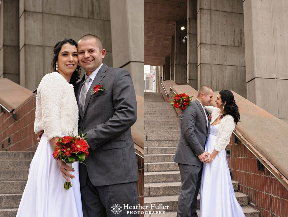 christianne and karol�s boston city hall winter elopement