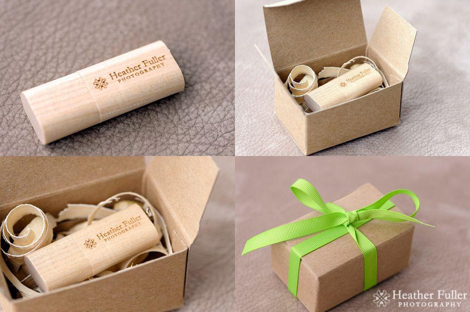Heather Fuller Photography Usb Packaging Eco Friendly Green Photographer Leather Custom Designed Wedding Album