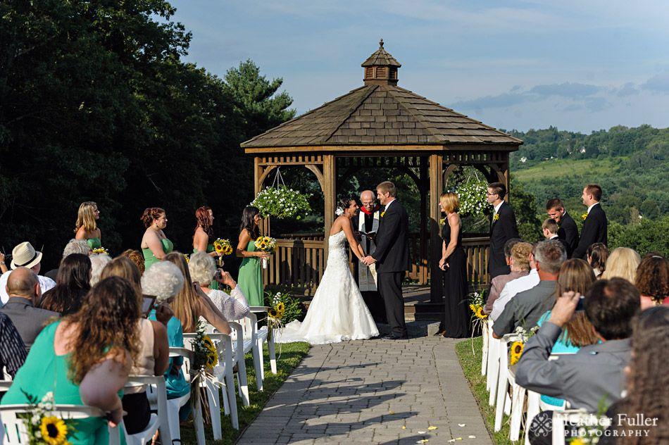 Crystal Amp Roger S Wedding At Zukas Hilltop Barn Spencer Ma